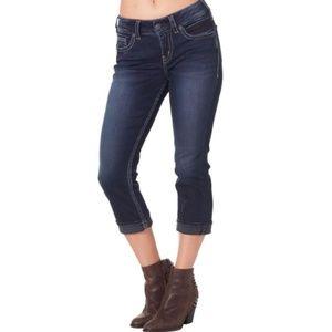 Silver Jeans Suki Capris